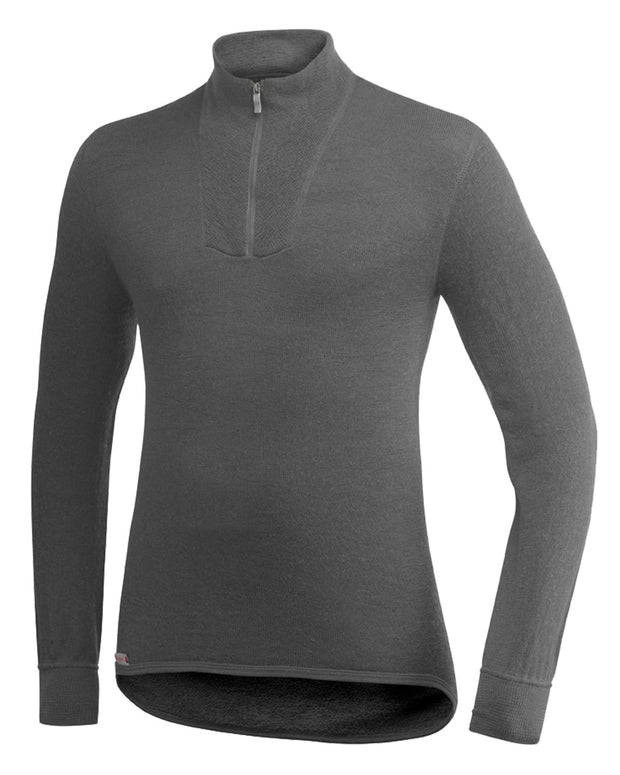 Zip Turtleneck 200, Grey