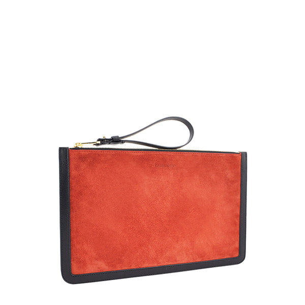 POCHETTE SMALL SUEDE | Envelope