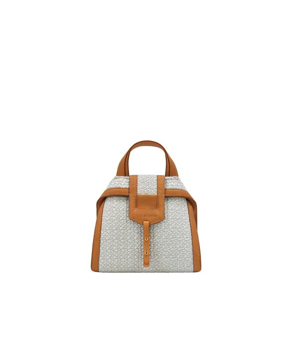 MARCO POLO | Mini Flap Raffia