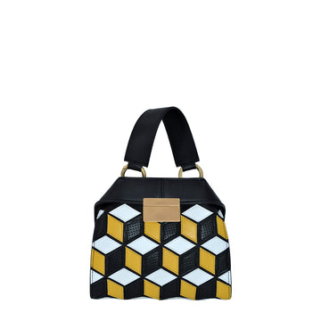 Mini Mosaico | Giallo - Calicanto Luxury Bags