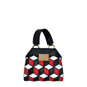 Mini Mosaico | Rosso - Calicanto Luxury Bags
