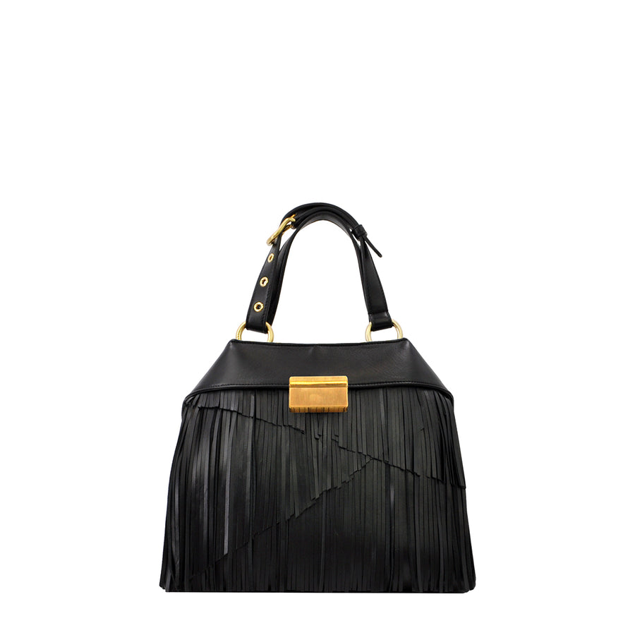 Mini Fringe | Black - Calicanto