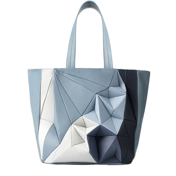 Shopper grande | Blue Degradé - Calicanto Luxury Bags