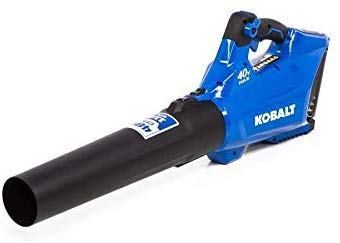 Kobalt 40-Volt Lithium Ion (Li-ion) 480-CFM 110-MPH Medium-Duty Baretool Cordless Electric Leaf Blower (Tool Only - Battery/Charger Not Included)