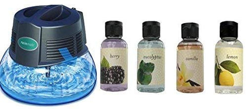 New Rainbow Rainmate IL Air Freshener Purifier Room Aromatizer w/ 4 Fragrances