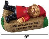 "BigMouth Inc Officially Licensed Star Trek Spock Gnome Statue, 9"" Tall, Funny Lawn Gnome Perfect for Gardens, Weatherproof Star Trek Fan Gift"