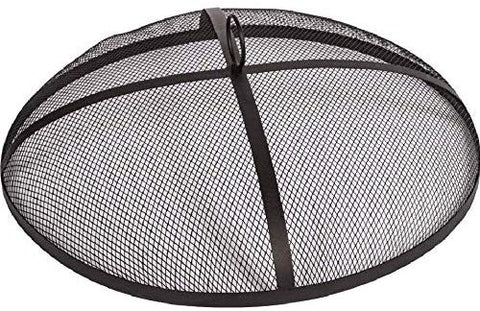 Dagan Industries 19-Inch Mesh Fire Pit Spark Screen - Round
