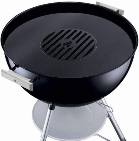 "Weber Grill Accessory Replaces Your Weber 26"" Grill Grate with a Grill Grate Griddle Combination, Solid Steel, Last a Lifetime. Made in The USA."