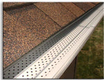 "FlexxPoint 30 Year Gutter Cover System, Residential 5"" Gutter Guards, 102ft"
