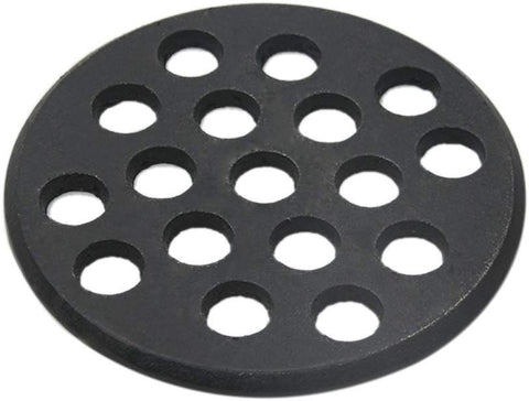 Dracarys 10.5 inch Cast Iron Charcoal Grate,BBQ High Heat Charcoal Plate Fit for Kamado Joe Classic Weber Smokey Joe Fire Grate Pit Boss Grill Parts Charcoal Grate Replacement Parts-10.5 inch