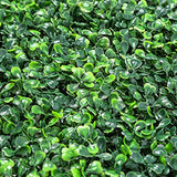 "Sunnyglade 12 Pieces 20""x 20"" Artificial Boxwood Panels Topiary Hedge Plant, Privacy Hedge Screen UV Protected Suitable for Outdoor, Indoor, Garden, Fence, Backyard and Decor (12PCS)"