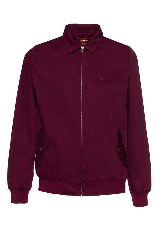 The Harrington Jacket - Wine