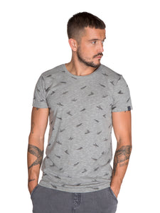 NIEL T-SHIRT - Dark Grey Melee