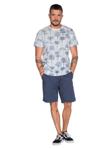 BOSWELL T-SHIRT - Ground Blue