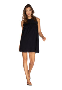 ANYZE dress - True Black