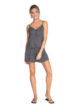 Load image into Gallery viewer, MINERA playsuit - True Black