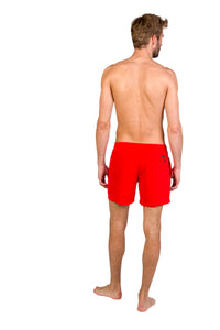 FAST beachshort - Red