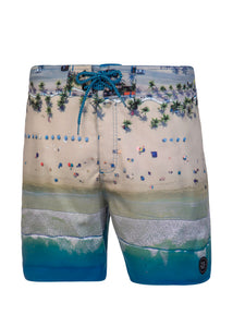 ARIO beachshort - Medium Blue