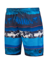 Load image into Gallery viewer, SPINE beachshort - Medium Blue