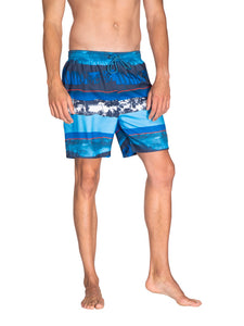 SPINE beachshort - Medium Blue