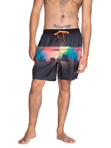 GOWAN beachshort - True Black