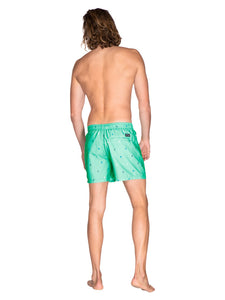 BARTON beachshort - Poison Green