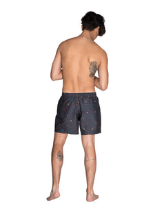 BARTON beachshort - Deep Grey