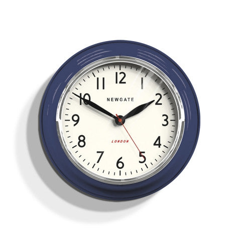 Kitchen Classic Clock - Inkwell Blue