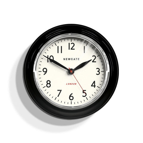 Kitchen Classic Clock - Black