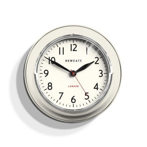Kitchen Classic Clock - Linen White