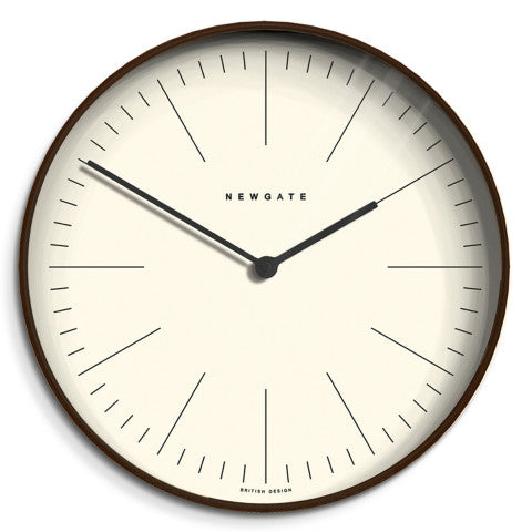 Baldwin Clock - Dark Stain Finish