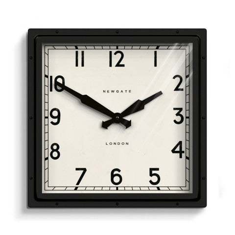 Wyatt Clock - Black