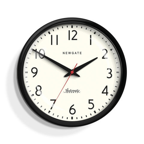 Hood Clock - Gloss Black
