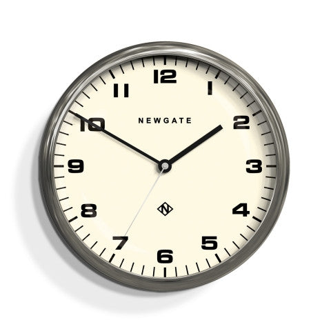 Barton Clock - Burnished Steel