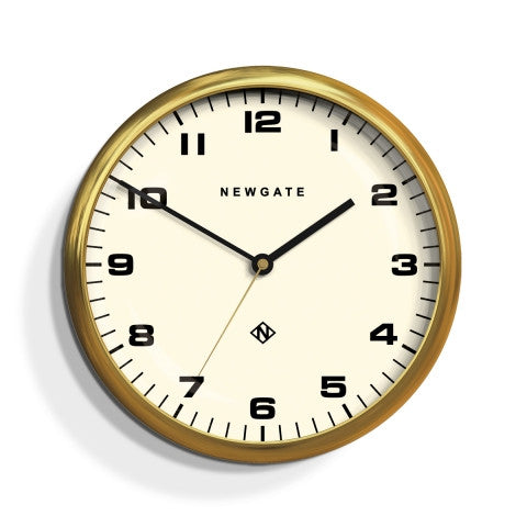 Barton Clock - Radial Brass