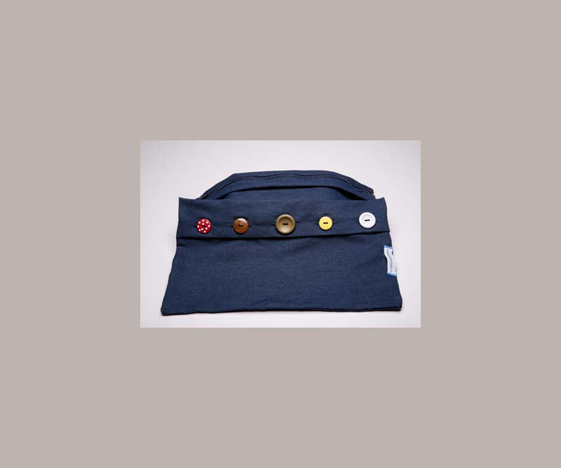 Button & Zipper Bag set