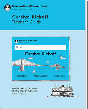 NEW - Cursive Kickoff Teacher's Guide