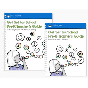 New! Get Set for School Pre-K Teacher's Guide Set