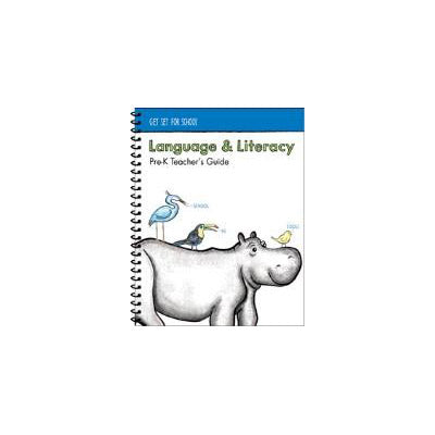 Language & Literacy Pre-K Teacher's Guide - Tools for Kids