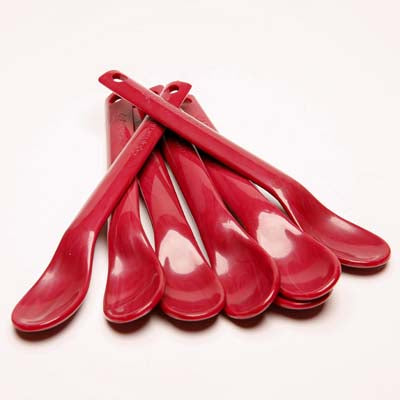 Maroon Mothercare Spoons
