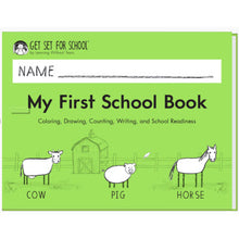 Load image into Gallery viewer, New! My First School Book 2020 edition
