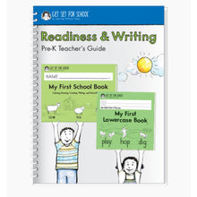 Load image into Gallery viewer, Revised! Readiness & Writing PreK Teachers Guide