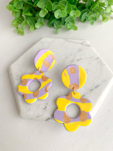 """Flowers"" Statement Earrings"