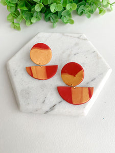 """Little Steps"" Statement Earrings"
