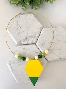 """Yellow Passion"" Necklace"