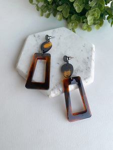 """Cafecito"" Earrings"