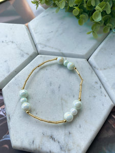 Simple Pearls Bracelet