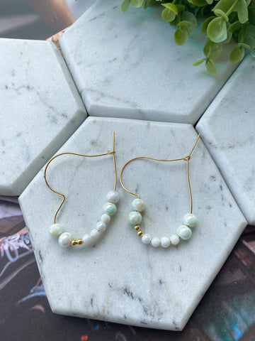 Simple Pearls Earrings
