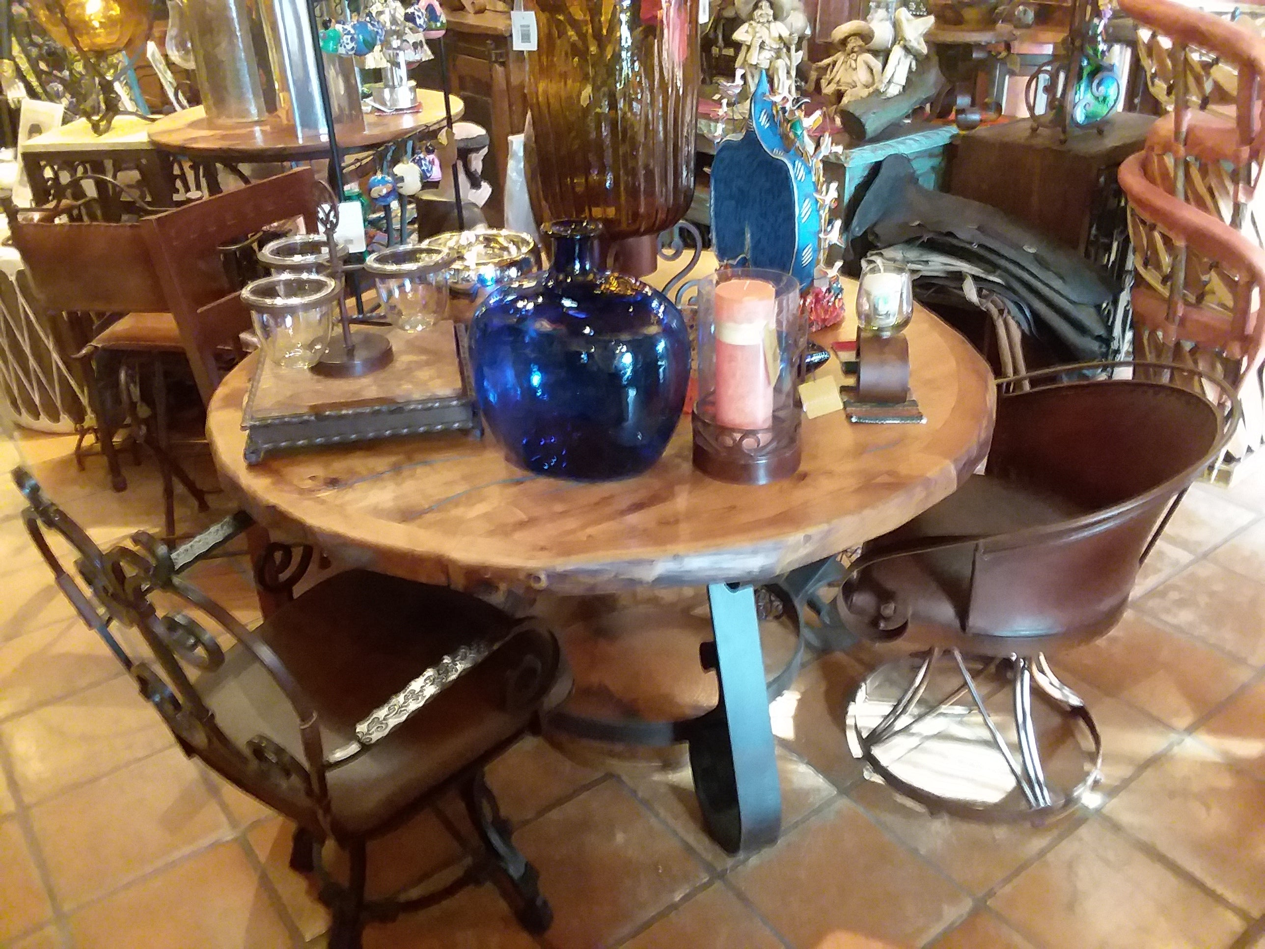 Copper Top Tables