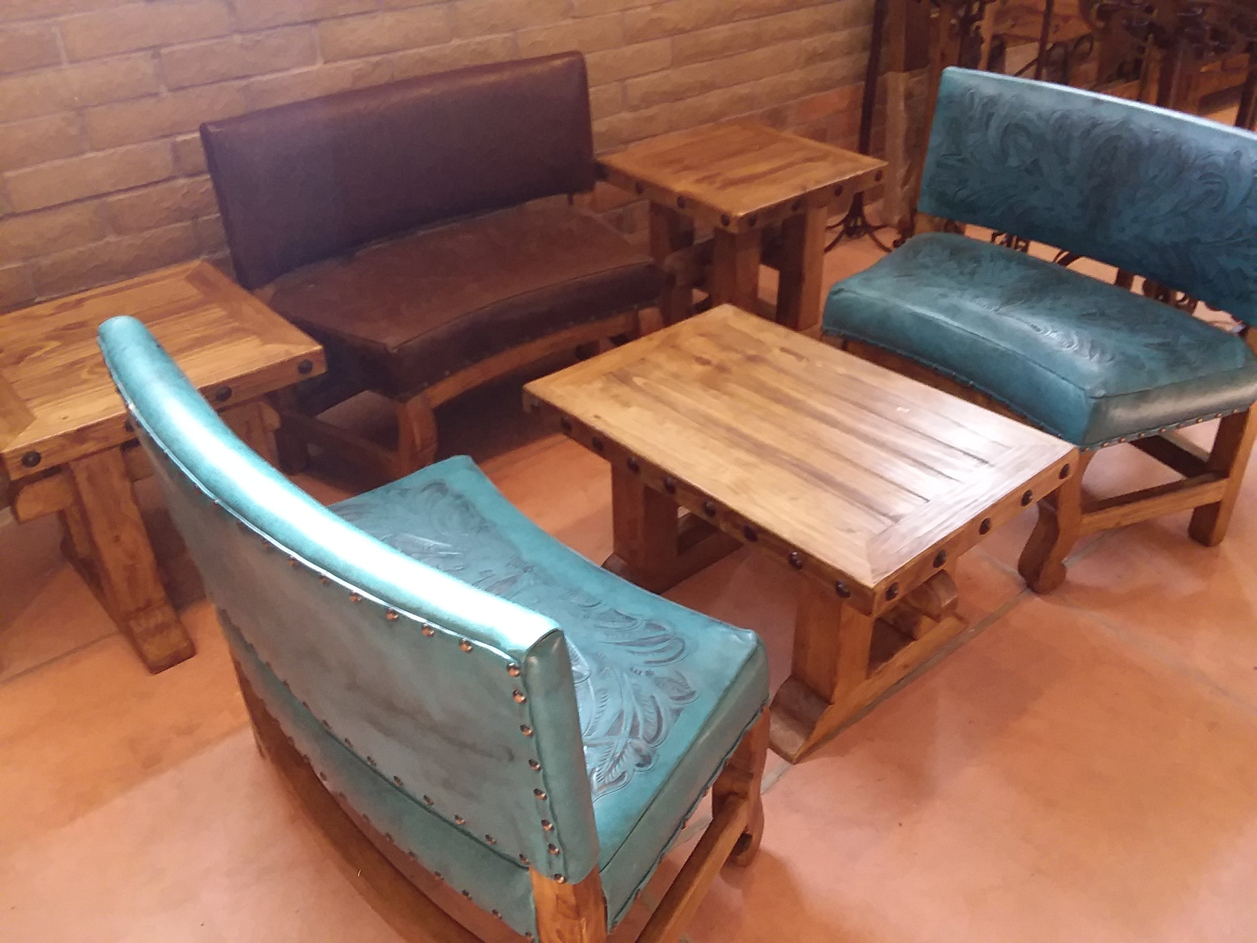Wood Benches and Chairs